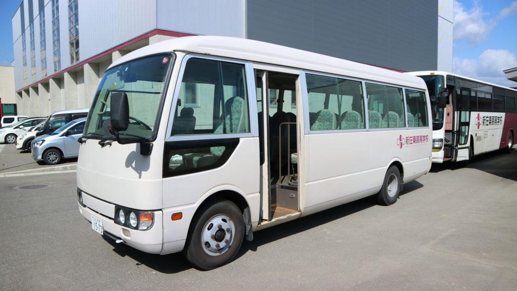 「帰り」のバス